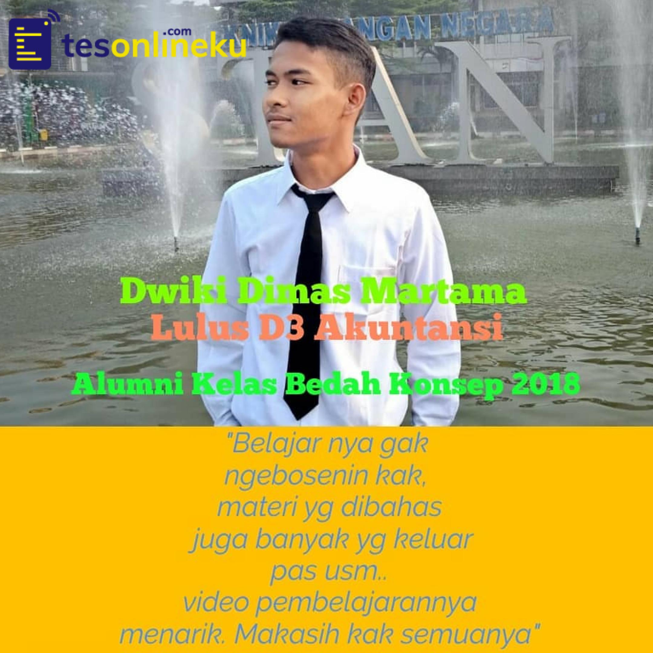 Dwiki Dimas Martama (Lulus D 3 Akuntansi)