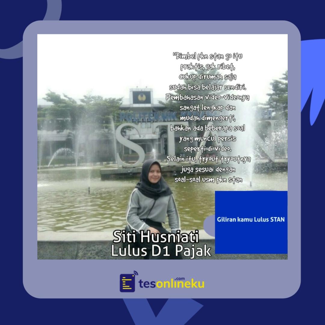 Siti Husniati (lulus D1 Pajak)