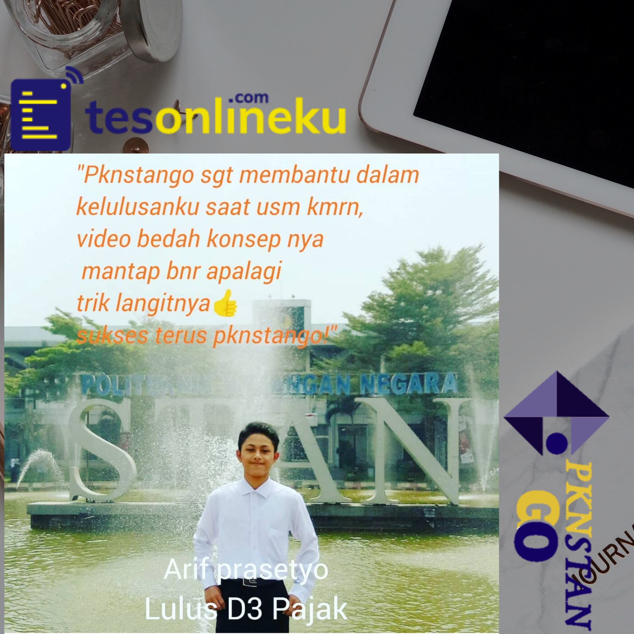 Arif Prasetyo (Lulus D 3 Pajak)